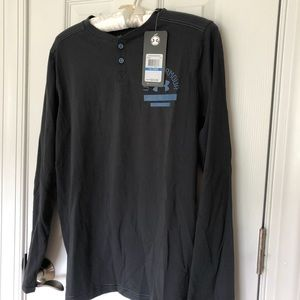 NWT Long Sleeve Under Armour Henley Shirts